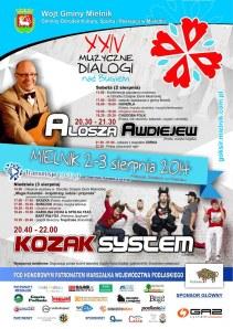 XXIV Muzyczne Dialogi nad Bugiem plakat